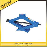 CE GS TUV Approved High Quality 1-2T Manual Scissor Screw Jack/Mini Lifting Jacks