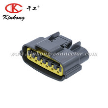 kinkong 6 pin gray female waterproof automobile connector for Sumitomo