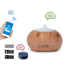 Wood Oil Diffuser Black, Aromatherapy Diffuser, Electric Aromatizer, Diffuser