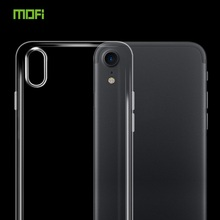 Mofi Slim Transparent Clear Silicon Rubber Silicone TPU Back Cover Case For iPhone X 8 7 6 6S 6G 5S 5G SE Plus
