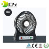 Portable Ventilation Triple Ranges Adjustable Speed Rechargeable Electric Mini Usb Fan with Led Light