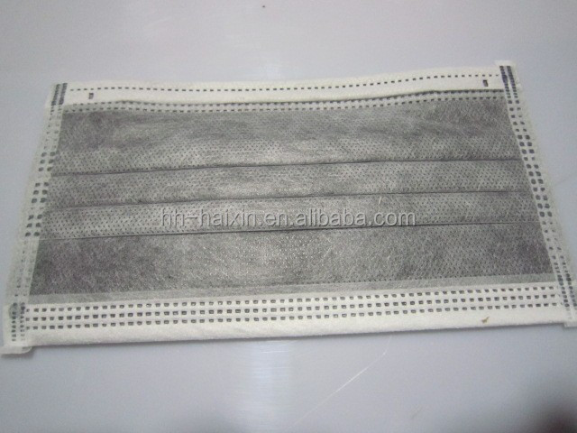 Disposable sterile Anti MERS active carton facemask prevented injection