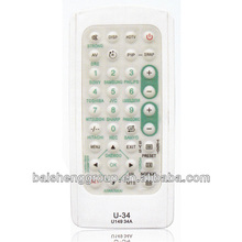 jumbo touch screen universal home alarm remote control