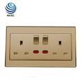 13A 2 Gang 6 hole Switched Socket