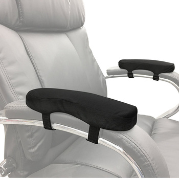 Comfortable Sofa Bus Car Seat Wheelchair Adjustable Elbow Pillow Memory Foam Cushion Arm Pad Armrest Pads For Office Chair Parts