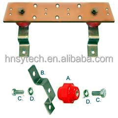 Tinning copper busbar / grounding busbar / tinned bar plate