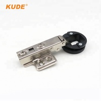 Fixed on Cabinet Used Soft Closed Shower Glass Door Buffering Hinge