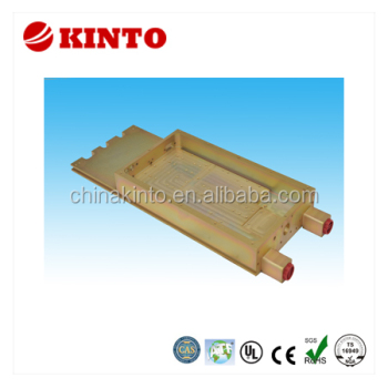 Liquid-cooled heatsink, heatsink, cooling plate