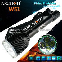 50W Strong Cree LED Diving Torches Light /LED Diving Light W51