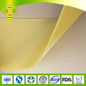 GMP 100% bulk natrual pure beeswax/honeycomb foundation sheet