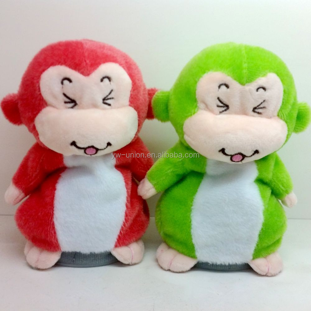 Hot selling Children's recording device toy smile monkey