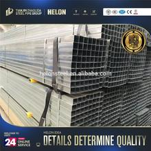 hot deep galvanized tube stocks wholesales galvanized square hollow section