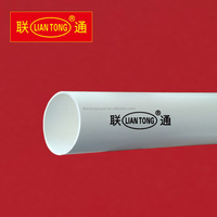 Liantong high quality PVC plumbing pipe for drain, sewage 50mm