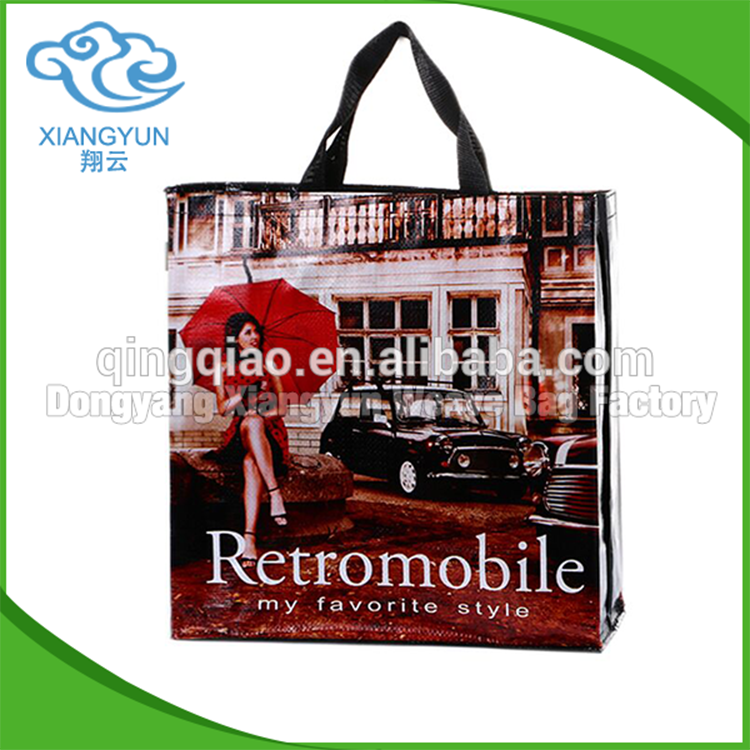 Hot China Products PP Woven Tote Bag Wholesale