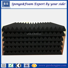 High density soundproofing foam with wedge/egg/pyramid shape/acoustic foam panels