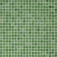 Green Glass Mosaic Tiles for Bathroom Floor Tile/Kitchen Wall Tiles/Decor