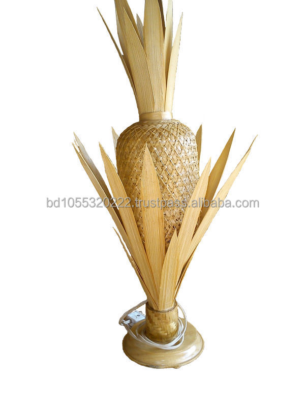 Bamboo Pine-Apple Lamp Shade