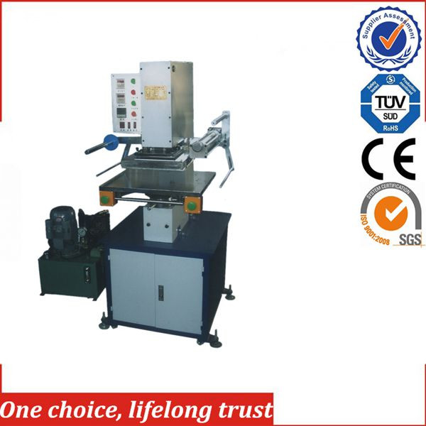 TJ-63 Hydraulic Hot Foil Stamping Embossing Machine for wooden photo frame