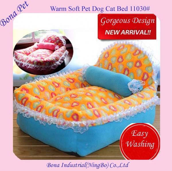 Hot Sale Luxury Pink Large Princess Dog Beds