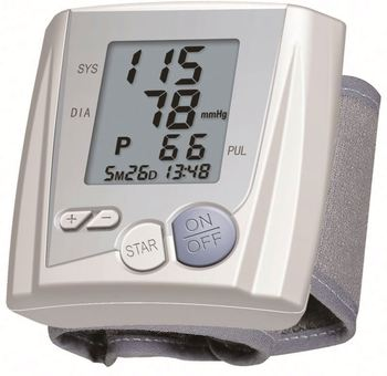 Latest Arrival unique design digital auto wrist blood pressure monitor fine workmanship