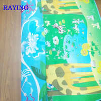 wholesale Raying Baby Care Play Mat Reversible Large EPE Activity Center (The giraffe /the sea)