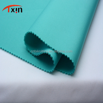 factory direct sale polyester elastane fabric smooth and soft milk silk fabric for cycling pants