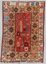 Antique Turkish Rug MELAS #7352