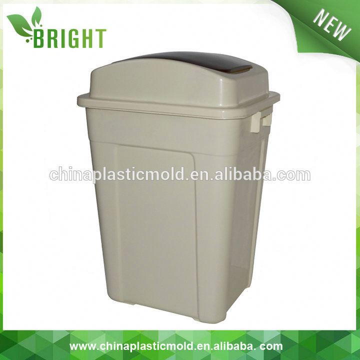 large street/ kitchen/park public dustbin collapsible corrugated plastic waste bins