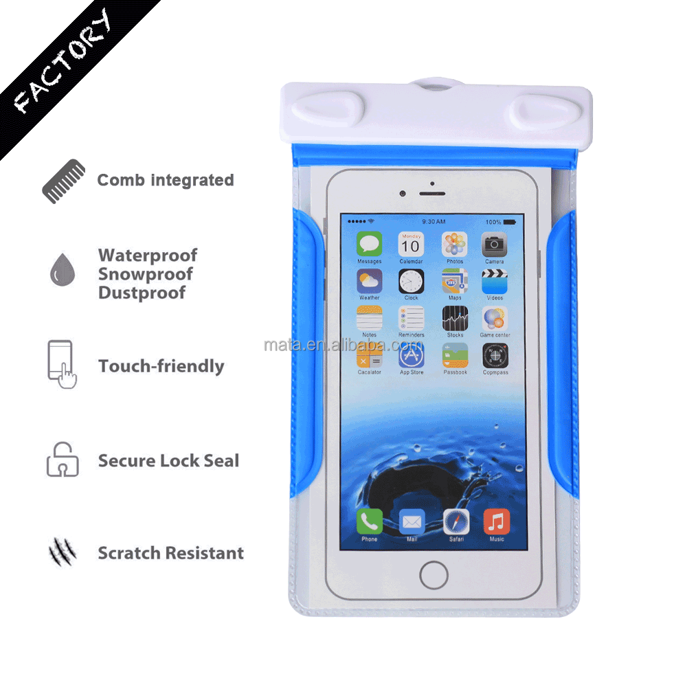 Wholesale Phone Waterproof Case for iPhone for Samsung with IPX8 certificated to 25m