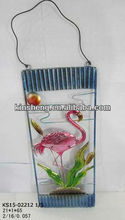 Water bird metal decorative wall hanger