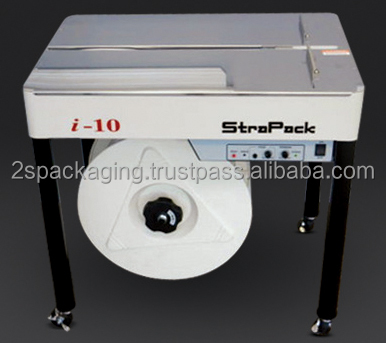 Semi-Automatic Strapping Machine with Strong Steel Frame Structure