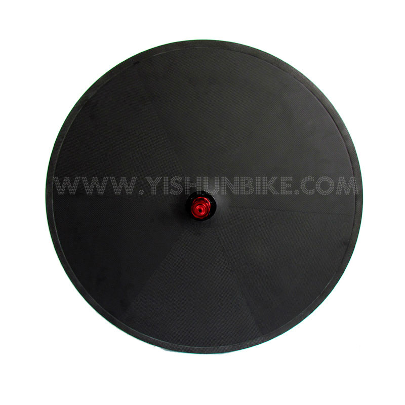 2014 YISHUNBIKE New Arrival Road Disc Series Lightweight TT/Track china carbon disc wheels