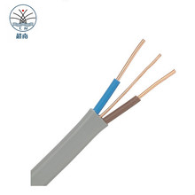 450/750V multi-core solid or stranded copper core RVVB BVVB Flat TPS cable, Flat twin earth cable, Cable Wire Electrical