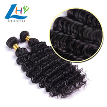 Comfortable And Soft And Very Have Tactile Sensation Deep Wave 30 Inch Brazilian Human Hair Styles