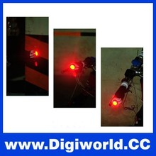 2pcs/pair Alloy and Silicon Bicycle LED Safty Light Bicycle Handlebar Lights