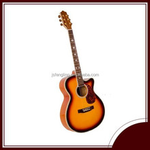 Wholesale guitar parts acoustic guitar with cutway (LCFG048C-40)