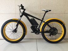 High Torque 1000W hub motor electric fat tire bike / bicycle for sale