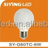 Plastic Aluminum led lights G55 E27 B22 5W 6W 7w led bulb