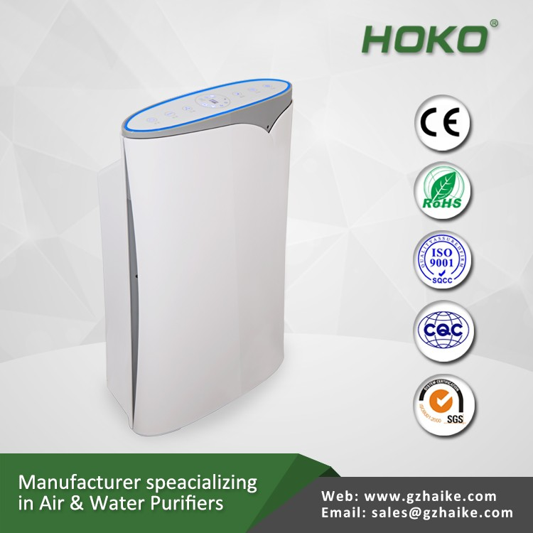 Touch Keyboard air cleaner,smart auto hepa air purifier