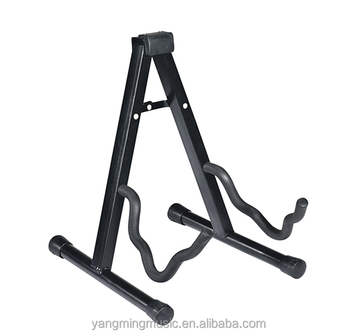Pro Universal Foldable Guitar Stand,Single Stand (A-Frame) with Secure Lock