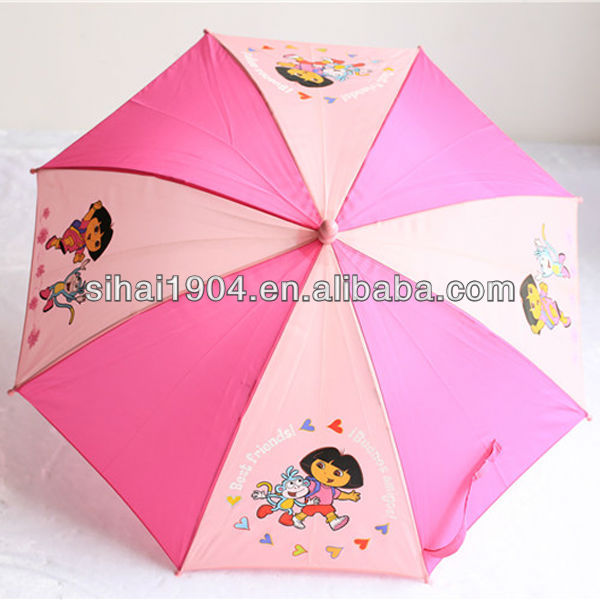 Promotion kids umbrella cheap for sunshade