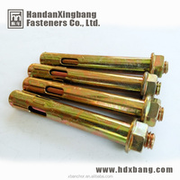 fasteners manufature sleeve anchor with flange nut made in hebei handan yongnian
