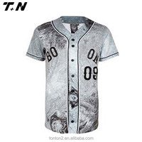 Wholesale camo baseball jersey /shirts/ uniforms custom logo