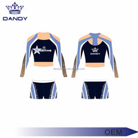 cheer team metallic rhinestones youth cheerleading apparel , cheerleader uniforms