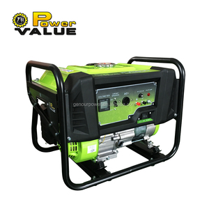 New design 6.5hp gasoline generator set 2kw with 168f-1 engine for sale