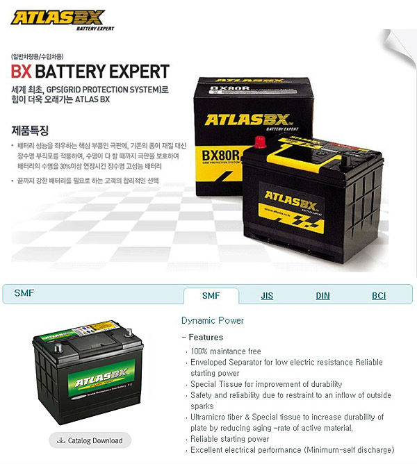 ATLAS BATTERY / BRAND KOREA