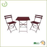 Cheap balcony furniture metal furniture solid wood furniture