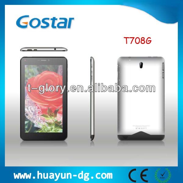 manufacturer 7'' tablet pc with voice call Android 4.2 Allwinner A20 Dual Core 8GB/1GB HDMI