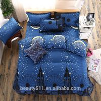 Indian hand block printed bed sheet wholesale home textile cotton fabric bedsheet by The Handicraft House BS358