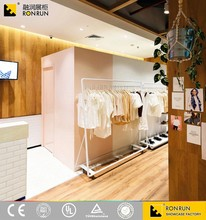 RCS2242 garments menswear shop decoration modern ladies garments shop name